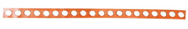 12x0.4MM PERFORATED COPPER EARTH STRAP /10M