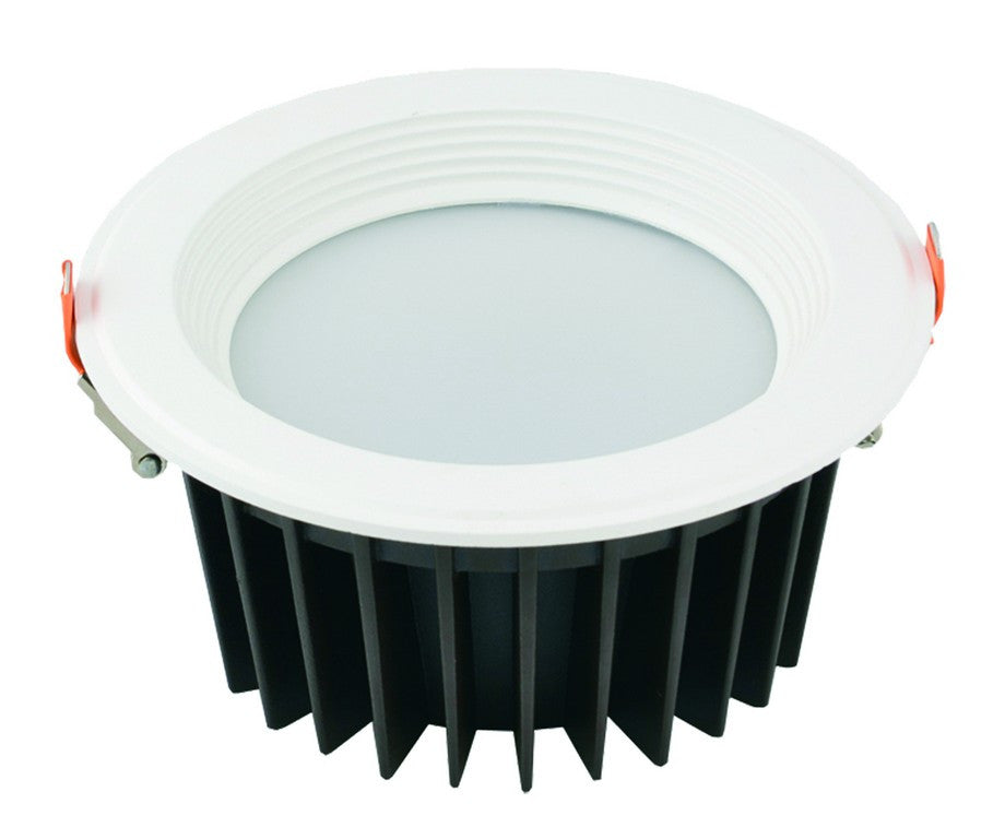 9W WARM WHITE LED DOWNLIGHT 230VAC 52H X 108DIA