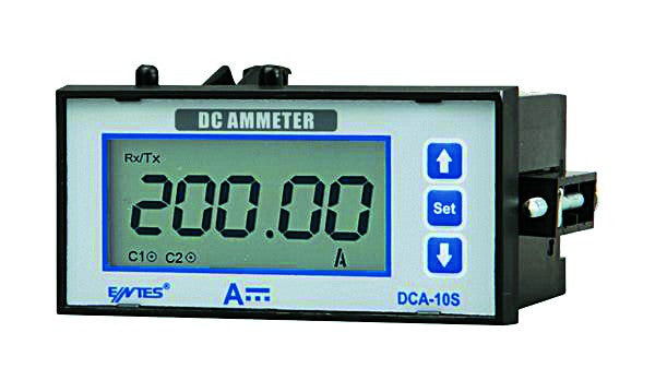 85-265VAC/DC  DIGITAL DC AMMETER 0-10000A SHUNT CONNECTED RE