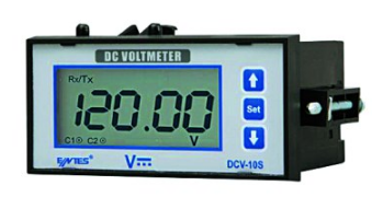 85-265VAC/DC  DIGITAL DC VOLTAGE METER 0-200VDC INPUT RELAY