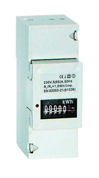 5(65)A 230VAC 50HZ MECHANICAL SINGLE PHASE kWH METER