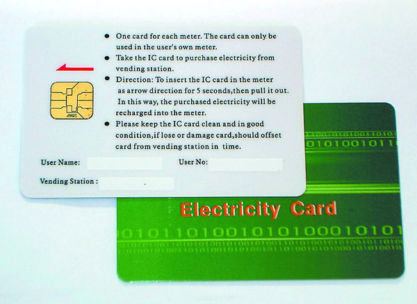 ELECTRONIC PRE-PAYMENT CARD