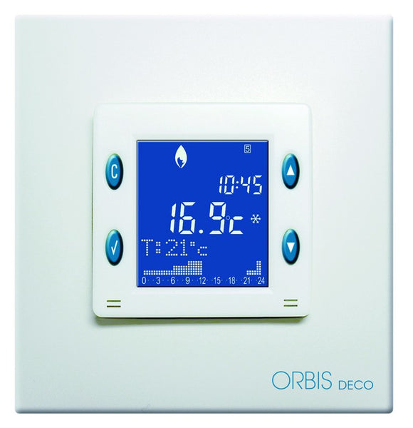 DIGITAL ROOM THERMOSTAT HEATING/COOLING 8A
