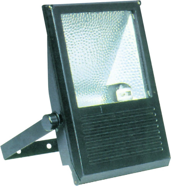 65W FLOODLIGHT BLACK SYM E40 C/W CFL LAMP IP54