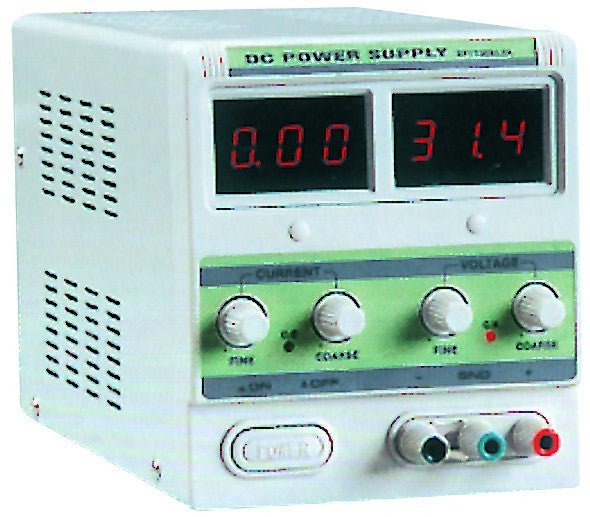 0-30VDC/0-20A VARIABLE POWER SUPPLY 230VAC