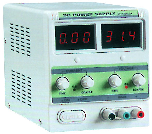 0-30VDC/0-5A DIGITAL VARIABLE POWER SUPP 110/230VAC