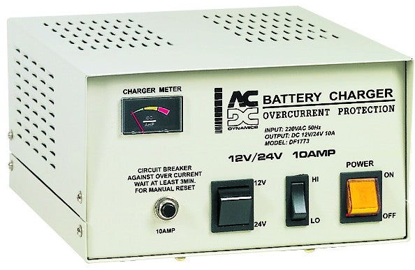 12/24VDC 10A DOMESTIC BATTERY CHARGER