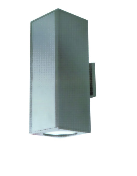 ALUMINIUM WALL MOUNT LIGHT E27 IP65 120x185x400MM