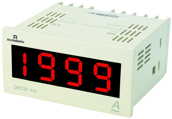 AC AMPERE DIGITAL PANEL METER 3.5 DIGIT 100-240V