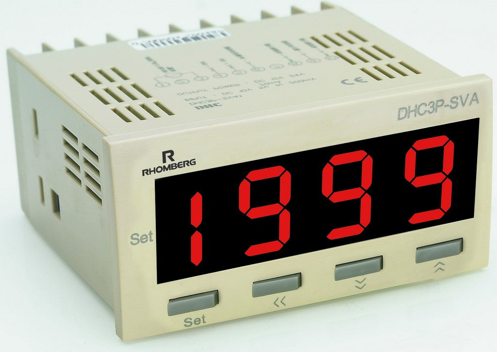 PROGRAMMABLE DC PROCESS METER WITH 4-20mA OUTPUT