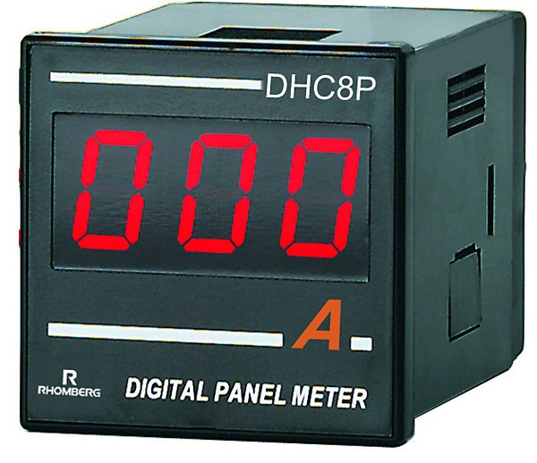 AC AMPERE DIGITAL PANEL METER 3 DIGIT 100-240V 48x48x70mm