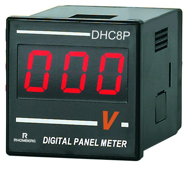 12-60VDC DC VOLTAGE DIGITAL PANEL METER 3 DIGIT 48x48x70mm