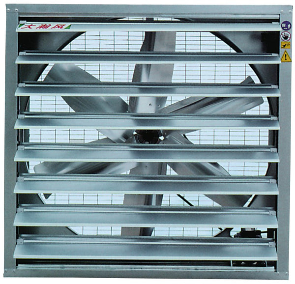 380V 1.1KW IND. EXHAUST FAN 1270MM DIA 44500M3/H