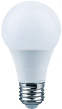 230VAC B22 10W DIMMABLE LED LIGHT WARM WHITE 2700K