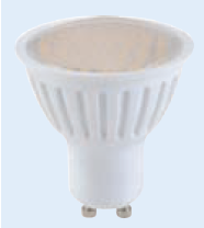 230VAC DIMMABLE WARM WHITE 60LED GU10 SPOT LIGHT