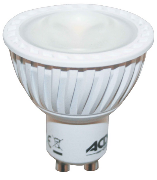 230VAC  7W  COOL WHITE LOW GLARE LED LAMP DIMMABLE GU10
