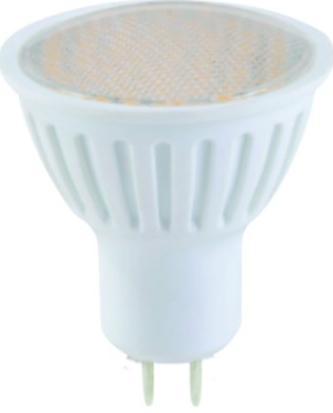 230VAC DIMMABLE WARM WHITE 60LED MR16 SPOT LIGHT