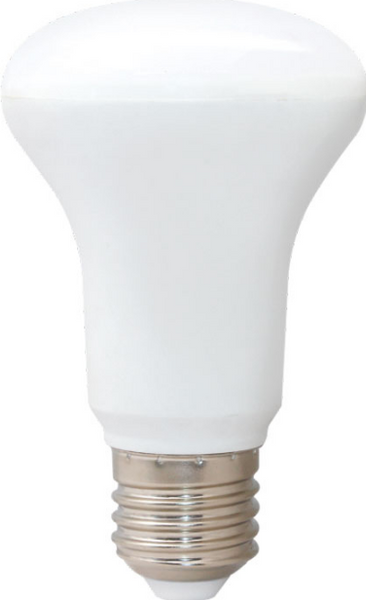 85-260VAC 8W R63, COOL WHITE, E27 DIMMABLE LED, 160° BEAM AN