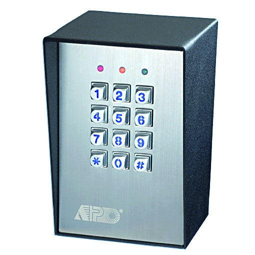 CODE ACCESS CONTROL SURFACE MOUNT 12-24vDC IP65