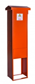 3CR12 DIN DB KIOSK 4-WAY ORANGE