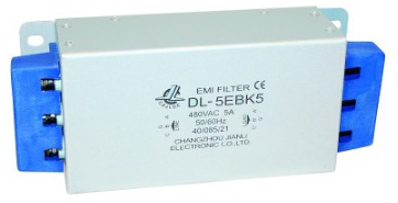 MAINS FILTER 400V 3PH 5AMP TERMINALS