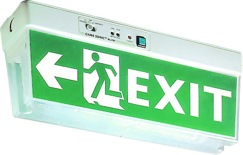 2x8W CEILING MOUNT EMERGENCY EXIT LIGHT