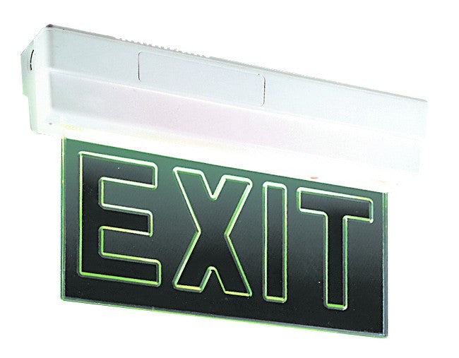 1x8w ceiling mount emergency exit light acdc dynamics online