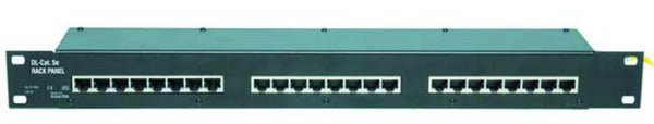 "24 PORT ETHERNET PATCH PANEL FOR 19"" CABINET"
