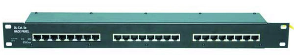 "16 PORT ETHERNET SURGE PROTECTION PANEL FOR 19"" CABINET"