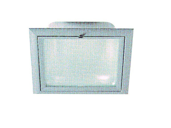 WHITE CFL DOWNLIGHTER C/W GLASS 230x230x115 26W