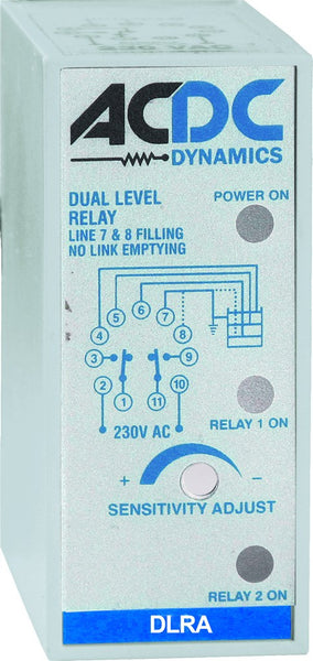 DUAL PUMP LIQUID LEVEL RELAY