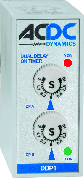DUAL DELAY ON TIMER 1stT 60S. 2ndT 10S