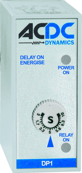 24-240VAC/DC MULTI-VOLTAGE TIMER DELAY ON 2C/O