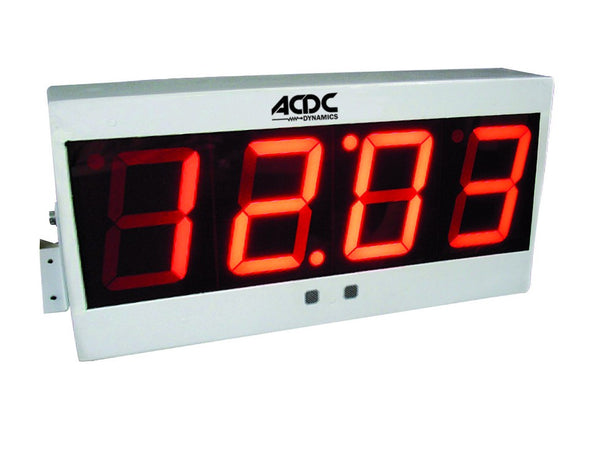 230VAC LARGE 4 DIGIT METER DISPLAY  4-2mA INPUT/100% DISPLAY