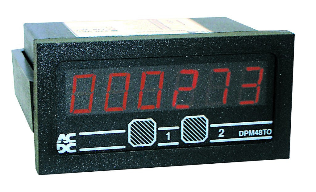 24VDC 6 DIGIT TOTALISER UP/DOWN 48x96
