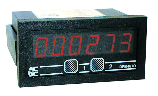 12VDC 6 DIGIT TOTALISER UP/DOWN 48x96