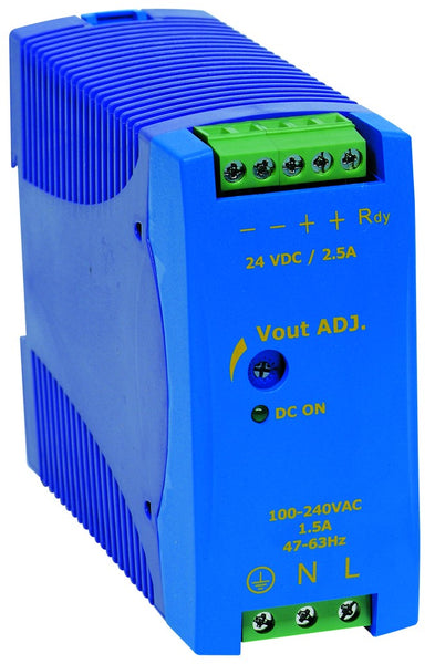 90-265VAC/24VDC 1.25A POWER SUPPLY