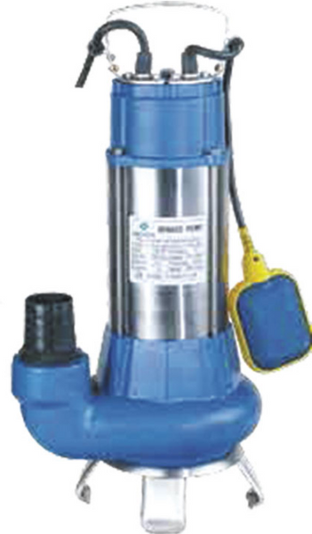 230V 1.0HP/.75kW SEWERAGE PUMP + FLOAT