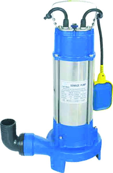 230V 1.75HP/1.3kW SEWERAGE PUMP WITH CUTTING SYSTEM