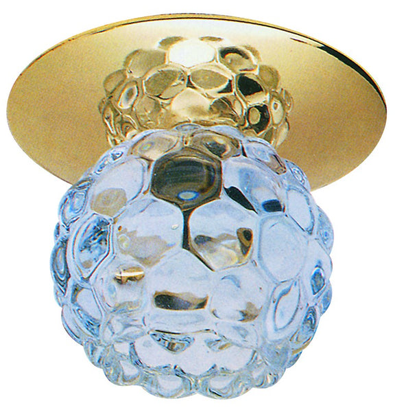 CHROME/CRYSTAL DOWNLIGHT G4-JC-12-20