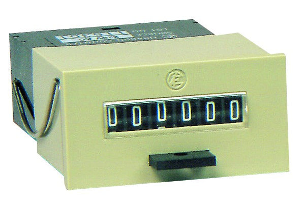 110VAC 6 DIGIT MECH PULSE COUNTER WITH RESET