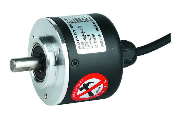 40mm SHAFT ENCODER 12-24VDC NPN N/O ONTPUT