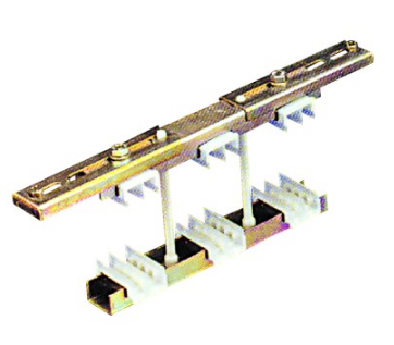 BUSBAR SUPPORT. UNIVERSAL, 3PH+N, 30-120MM, 2250A