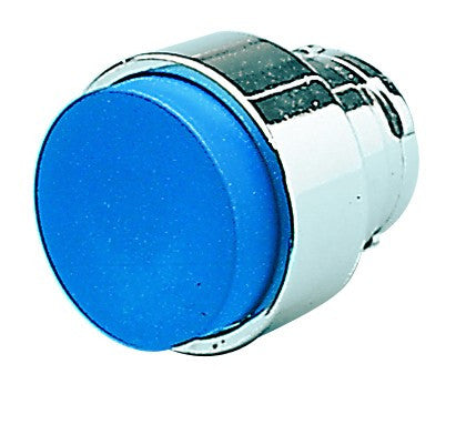 BLUE EXT PUSHBUTTON HEAD
