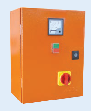30kW 400V DOL STARTER+ISOL+AMM ORANGE STEEL IP65 240V COIL
