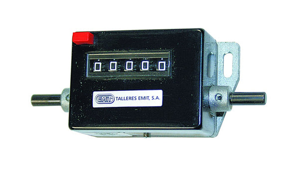 COUNTER 5 DIGIT PUSHBUTTON RESET 112X45X35MM