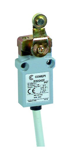 LIMIT SWITCH STEL ROLLER LEVER BOT CBL 1C/O 1A 33MM IP67