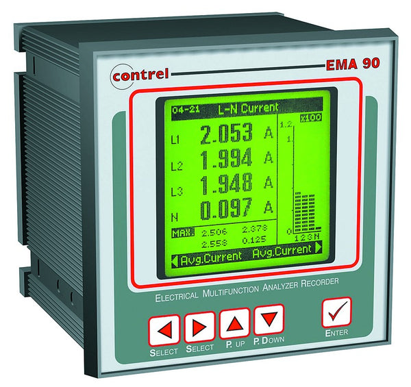 ENERGY MANAGEMENT ANALYSER 96x96 110/230V
