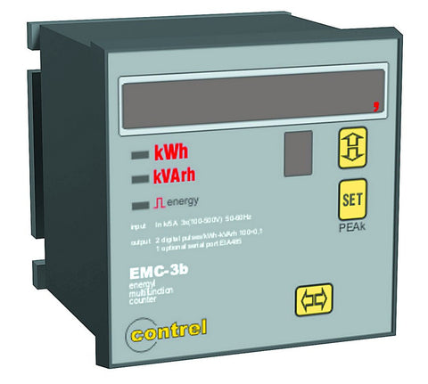 3 PHASE ENERGY METER 96x96 RS485