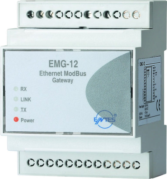 ETHERNET TO MODBUS 2 ON LINE CONNECTIONS